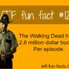 the walking dead budget