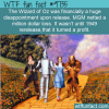 the wizard of oz was financially a huge