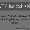 the word bride