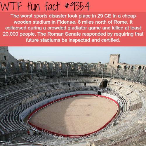 The worst sports disaster - WTF fun facts