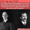 the wright brothers only flew together once wtf