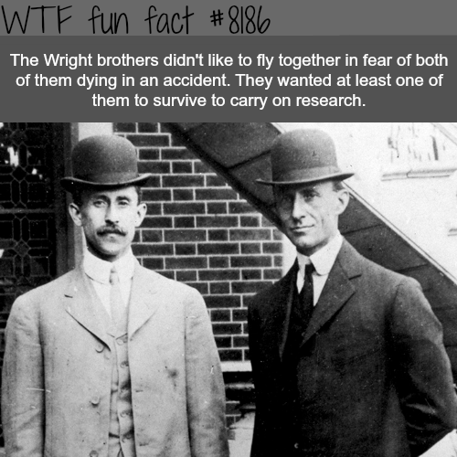 The Wright Brothers - WTF fun fact