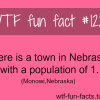 there is a town in nebraska with a population of 1