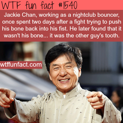 Things you never knew about Jackie Chan - wtf fun facts