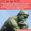 thinking in a foreign language wtf fun facts