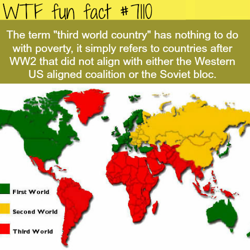 Third world countries - WTF fun facts