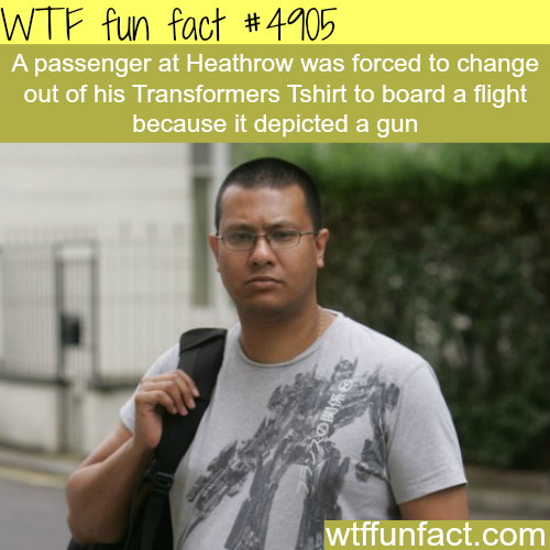 This airport security is getting ridiculous - WTF fun facts