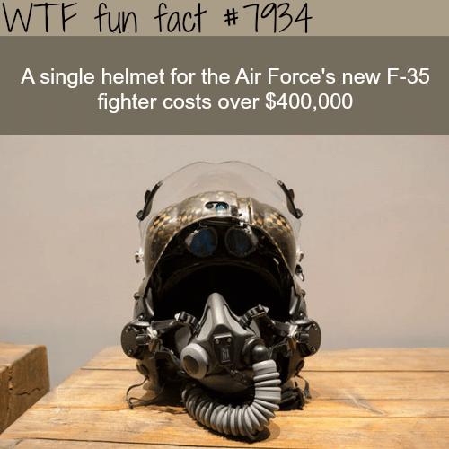 This helmet costs $400