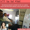 this man played a pirated movie on an airplane