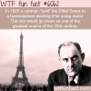 this man sold the eiffel tower wtf fun facts