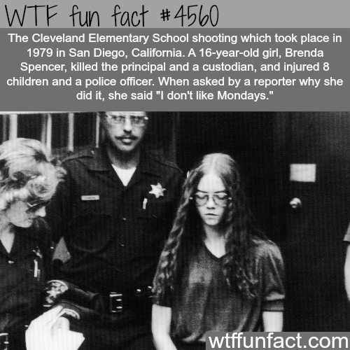 This person hates Mondays more than anyone else -   WTF fun facts