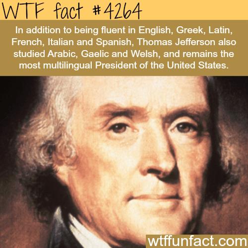 Thomas Jefferson facts -  WTF fun facts