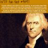 thomas jefferson wtf fun fact