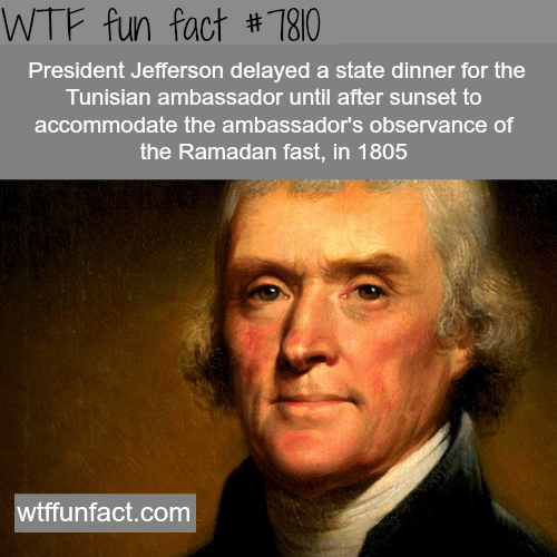 Thomas Jefferson - WTF fun facts