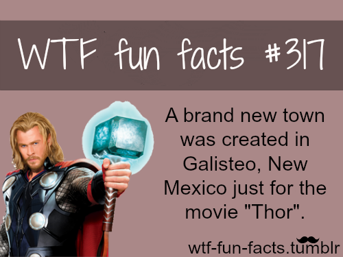 TOP 5movies facts click here - or places facts