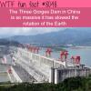 three gorges dam wtf fun fact