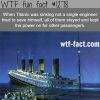 titanic facts
