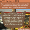 town of nothing arizona wtf fun facts