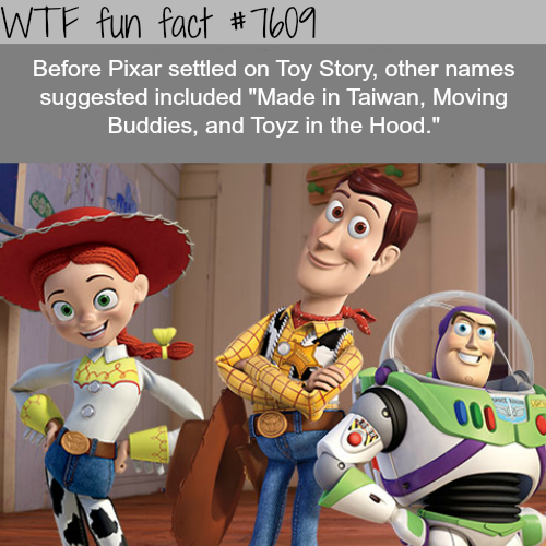 Toy Story - WTF fun facts