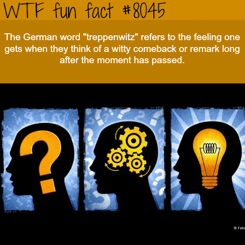 Treppenwitz - WTF fun fact