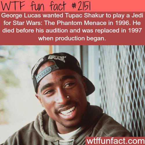 Tupac Shakur Jedi for Star Wars -WTF fun facts
