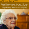 turning 100 year old in the usa wtf fun fact