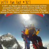 two nepali men paraglided off of the summit of