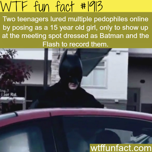 Two teenagers lured multiple pedophiles… - WTF fun facts