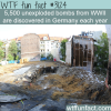 unexploded bombs from ww2 in germany