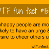 unhappy people facts