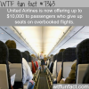 united airlines now offers 10000 for people who