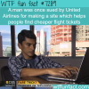 united airlines sued a man who made a website for