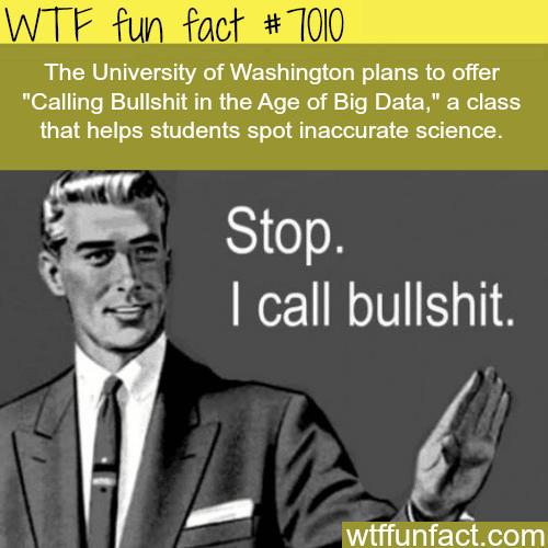 University of Washington - WTF fun facts