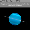 uranus was discovered before antarctica wtf fun
