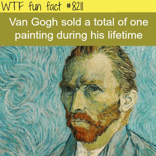 Van Gogh - WTF fun fact
