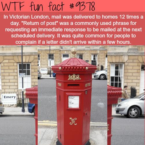 VictorianLondon - WTF fun facts