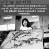 vietnam memorial wtf fun facts