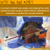 vilonist play music during surgery