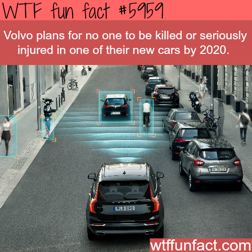 Volvo's safety technology - WTF fun facts