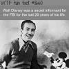 walt disney secretly worked for the fbi wtf fun