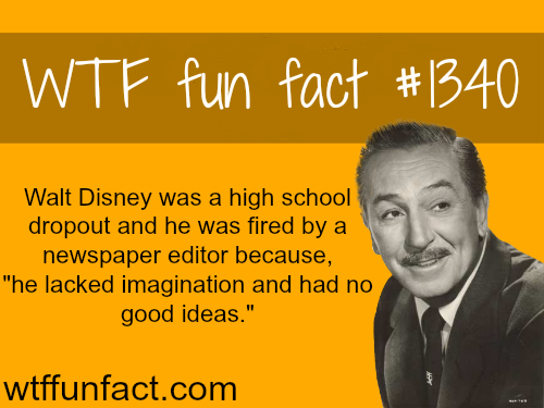walt disney / people's fact