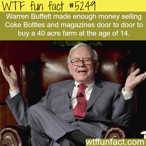 Warren Buffett facts - WTF fun facts