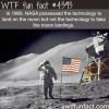 was the moon landing fake wtf fun facts