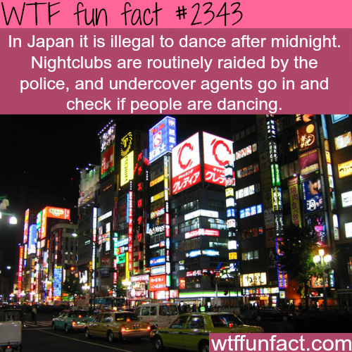 Japan laws -WTF funfacts