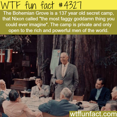 What is the Bohemian Grove? -  WTF fun facts