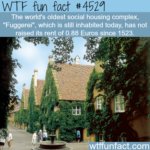 Where you can find rent for less than a dollar -   WTF fun facts