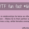 who lies the more in a relationship males or