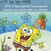 who watches spongebob squarepants wtf fun fact