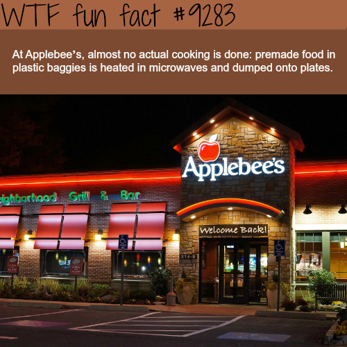 Why Applebee's is one of the worst restaurants - WTF fun facts