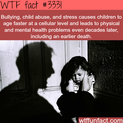 Why child abuse and bullying is a very serious issue -  WTF fun facts